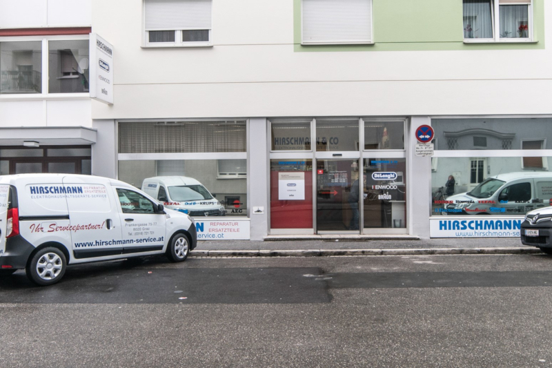 GRAZ repariert - Mitglied Fa. Hirschmann