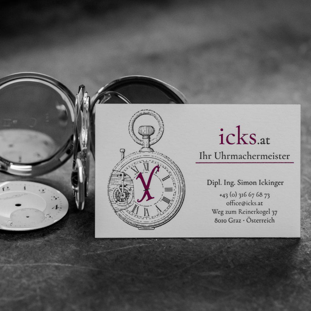 Reparaturbetrieb icks für Uhren