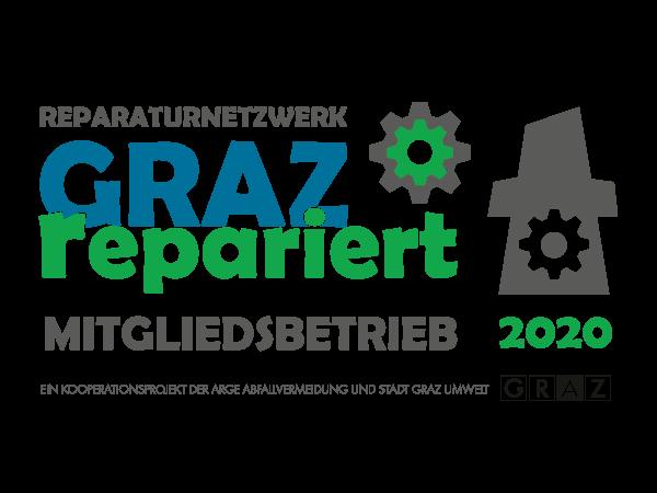 Qualitätsiegel der Initiative GRAZ repariert